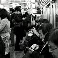 今夜の御堂筋線阪急電車能勢電車。17