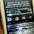 今朝はこれから…BSR - Let Me Get on Board2