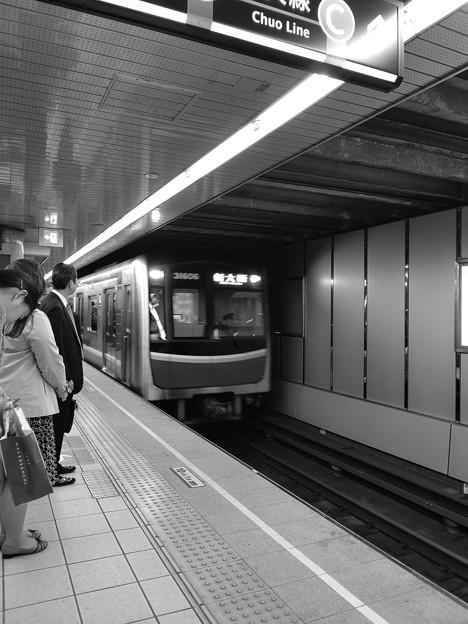 今夜の御堂筋線阪急電車能勢電車~そのいち。7