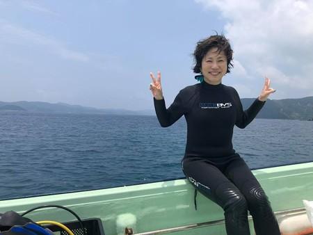 加計呂麻島の近くで