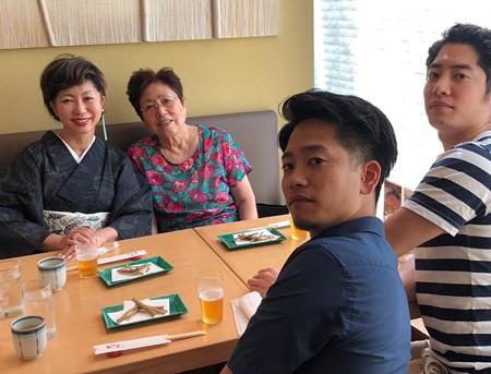 母と子ども達と食事会