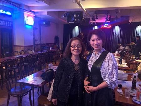 後藤芳子さんのライブ