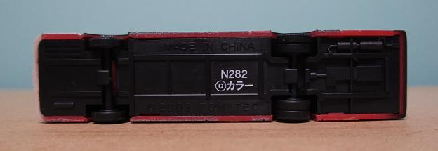 N282 箱根登山バスB262号車06 下面
