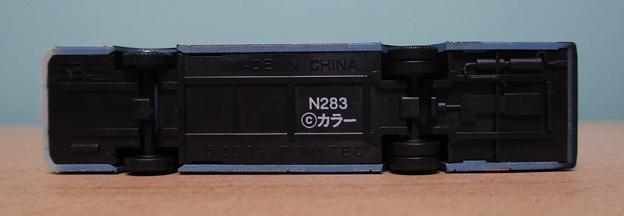 N283 箱根登山バスB254号車06 下面