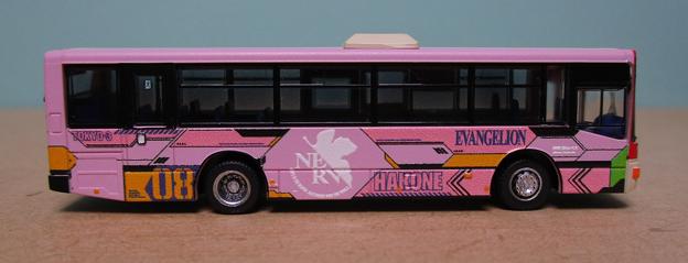 N284 箱根登山バスB253号車04 右側面