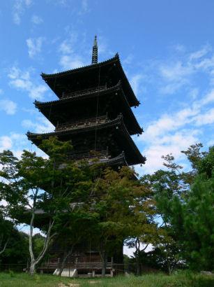 五重の塔0808tb