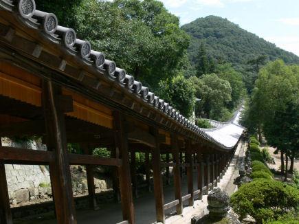 吉備津神社回廊0807te