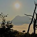 写真: 摩周湖の朝