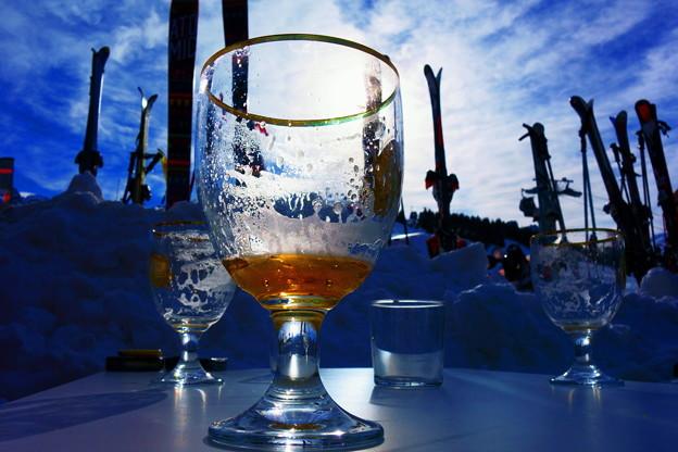第140回モノコン  スキー場の一杯は美味いね