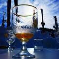 写真: 第140回モノコン  スキー場の一杯は美味いね