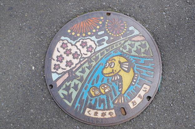 埼玉県・熊谷市(マンホールカード図案)