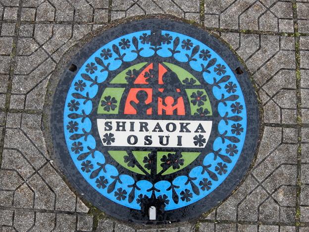 埼玉県・白岡市(マンホールカード図案)