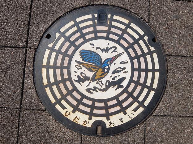 日高市(マンホールカード図柄)