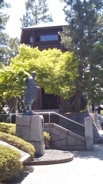 松尾芭蕉と望楼