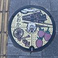 Photos: 栃木・真岡市(マンホールカード図案)