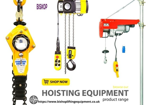 Get high-quality hoist lifting equipment in the UK