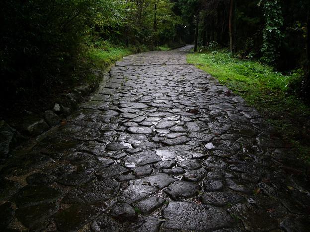 旧中山道・落合の石畳【蔵出し】