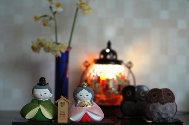 写真: 雛飾り