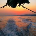 Photos: 釣り場へ急行中!