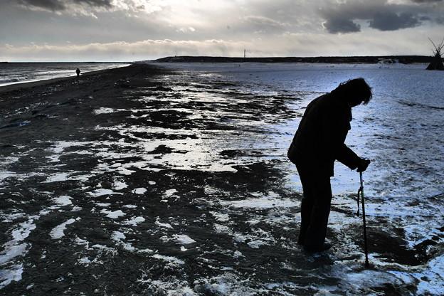 凍てつく海岸