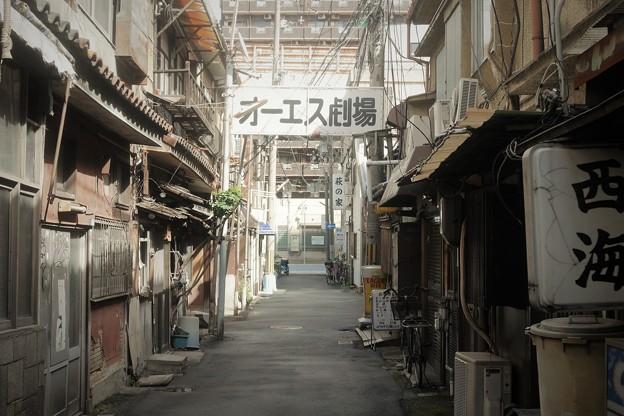 西成の路地