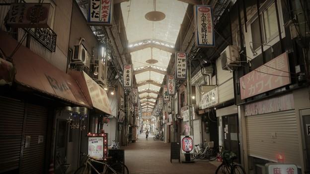 大阪西成の商店街