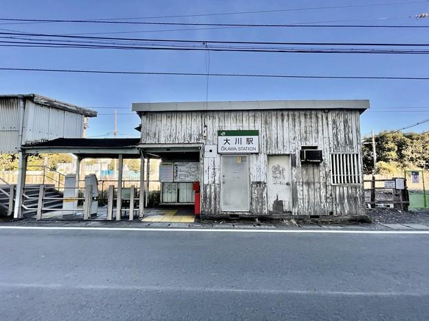 鶴見線のボロ駅舎