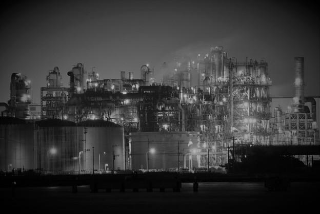 川崎浮島の工場夜景
