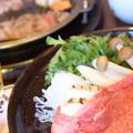 すき焼き鍋ランチ
