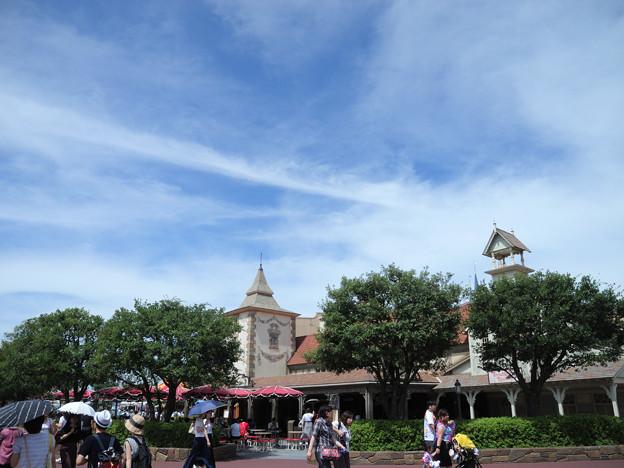 雲がいい感じ