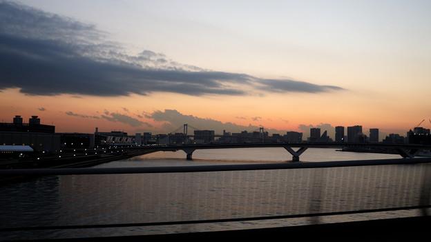 車窓 豊洲大橋
