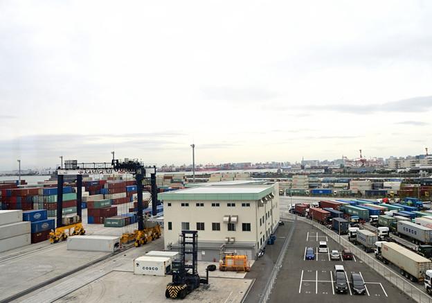東京港視察