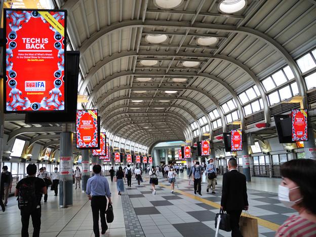 品川駅で降りて