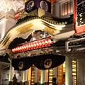 雨夜景 歌舞伎座