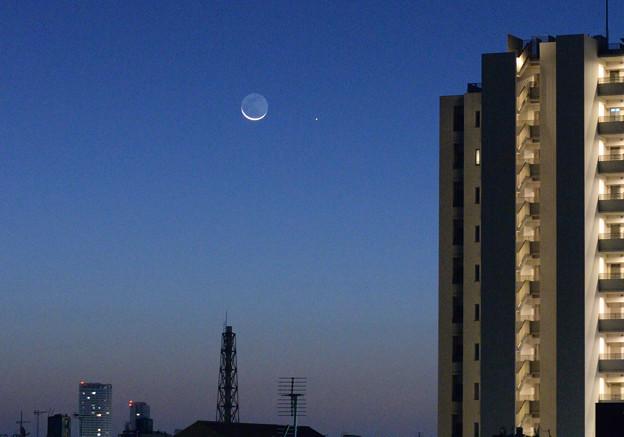 地球照と水星