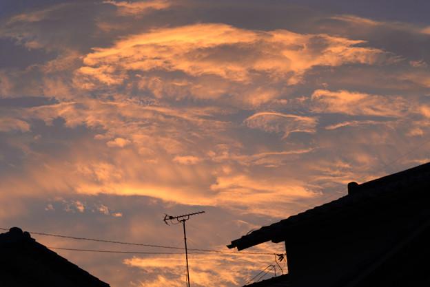 日の出 雲
