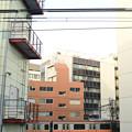 Photos: 快速電車の赤い色が~♪