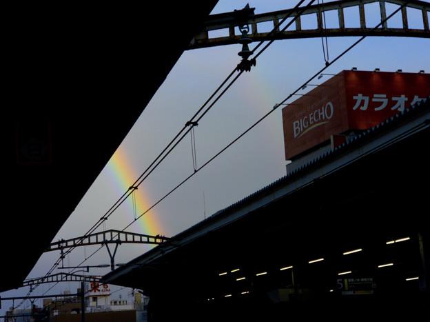 秋葉原駅で