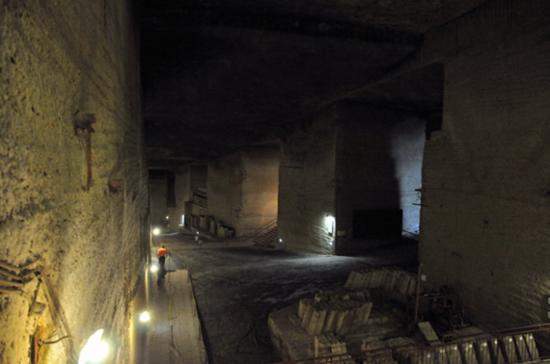 地下大谷採石場