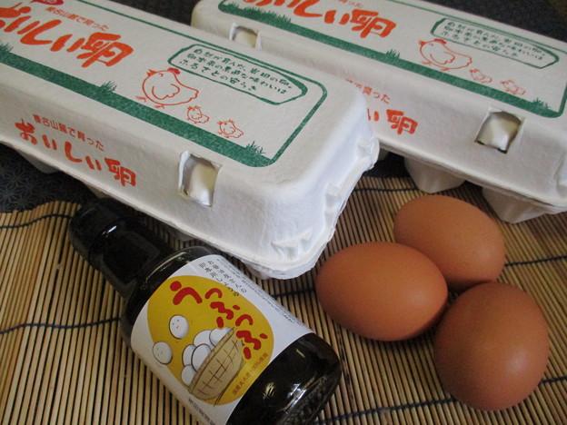 卵と卵専用醤油