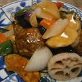 Photos: 肉団子の黒酢あんかけ(鶏肉)