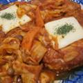 Photos: 鶏バーグのトマト野菜煮込み