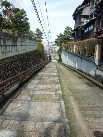 6、寺町〜犀川の桜