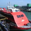 Photos: 行きの水中翼船(PS-30・揺れ少ない)