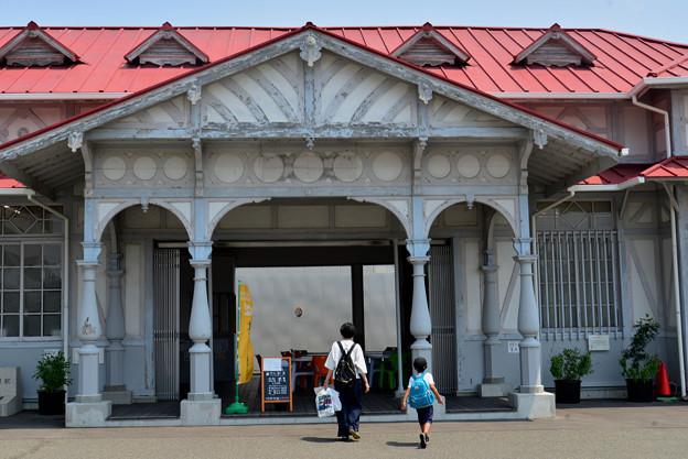 Romen Densha Hankai Tramway-3 南海本線浜寺駅旧駅舎