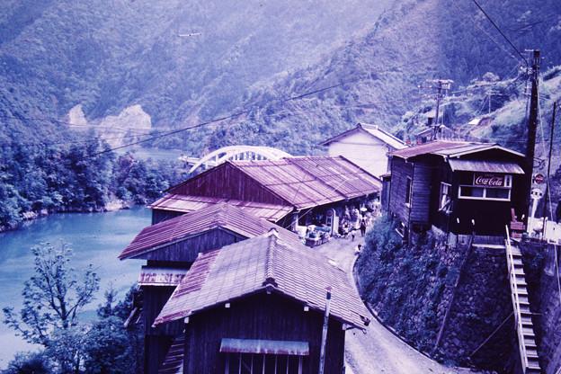 古い十津川村風景 1969年