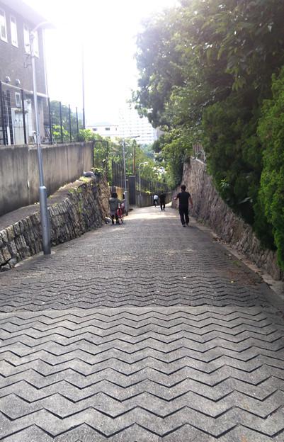 大阪 坂の町#18 愛染坂