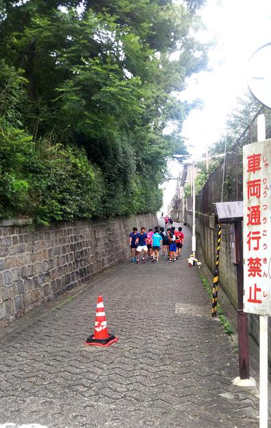 大阪 坂の町#19  愛染坂