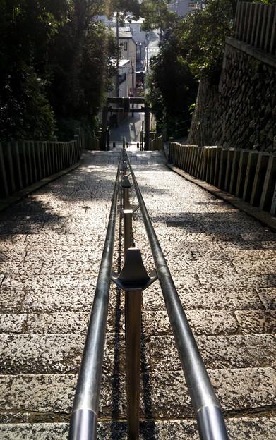 大阪 坂の町#23 大江神社百歳(ももとせ)の階段