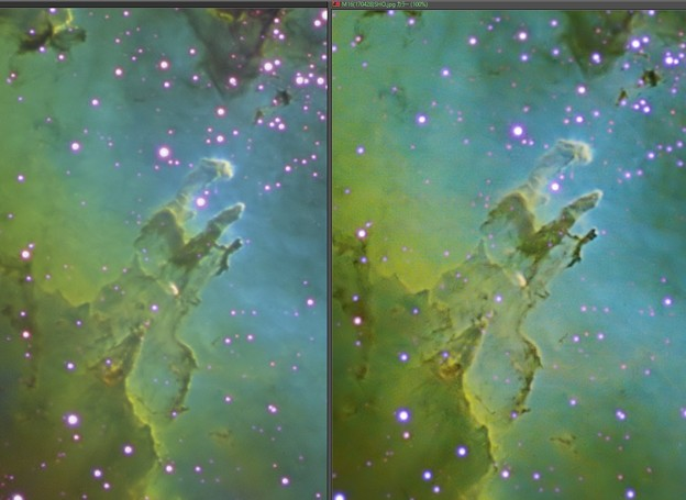 M16 Cooled CCD vs CMOS LuckyImaging